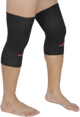 SportSoul Premium Compression Knee Support (S, Black)