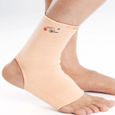 Tynor Pair Ankle Support (XL, Beige)