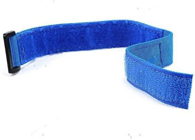 HE Retail Supplies Velcro band Gym Sports Wrist Support (Free Size, Blue)  available at flipkart for Rs.165