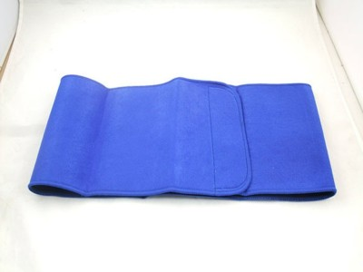 Turion Waist Trimmer Neoprene Blue Back & Abdomen Support (M, Blue)