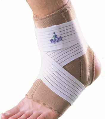 OPPO 1008 Neoprene with Double Stays Ankle Support (XL, Brown)