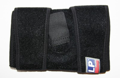 LP Support Extreme Open Patella Knee Support (Free Size, Black)  available at flipkart for Rs.350