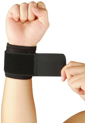 Nivia WS-583 Wrist Support (L, Black)  available at flipkart for Rs.159