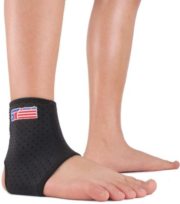 Jern ShuoXIN Elbow & Ankle Support (Free Size, Black)