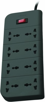 Belkin 8 Socket Surge Protector (F9E800zb)(Grey)