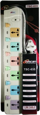 Tuscan-TSC-035-6-Socket-Spike-Surge-Protector-(1.5-Mtr)