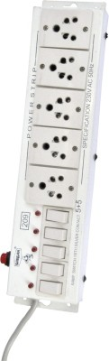Sargam Spike Busters 5 Socket Surge Protector(White)