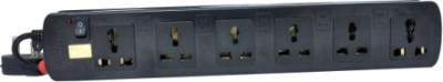 ProDot-Multi-Button-6-Socket-Spike-Surge-Protector-(2.5-Mtr)