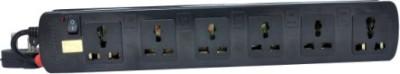 ProDot-Multi-Button-6-Socket-Spike-Surge-Protector-(2.5-Mtr)
