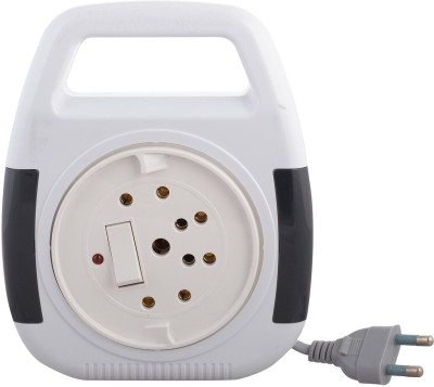 Anchor 5219 3 Socket Surge Protector(White)  available at flipkart for Rs.407