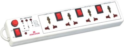 Anchor-22568-4-Socket-Spike-Surge-Protector