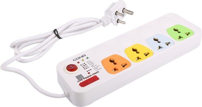 Cona Smyle VIVA 4+1 Power Strip / Spike Guard 4 Sockets + 1 Switch with 1.75 Mtrs Wire 4 Socket Extension Boards