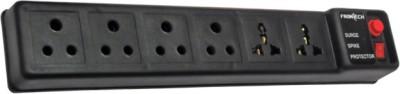 Frontech JIL 3513 Socket Surge Protector(Black)