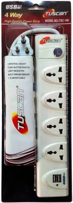 Tuscan-TSC-190-4-Strip-2-USB-Ports-Surge-Protector-(1.5-Mtr)