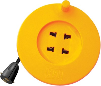 MX Micro Extension box with 5 Meters Electrical holder Power cable 2 Socket Surge Protector(Multicolor)