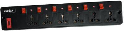 Frontech-JIL-3514-6-Strip-Spike-Surge-Protector-(1.5-Mtr)