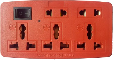 Evolution Kart EXT003 5 Socket Surge Protector(Yellow, Red)