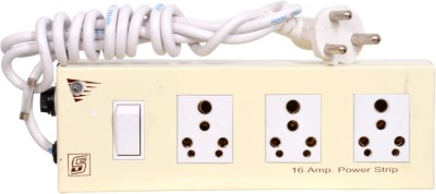 Sonica 3Outlet16A 3 Socket Surge Protector(White)
