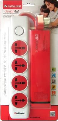Goldmedal-I-design-4x1-4-Strip-Spike-Surge-Protector