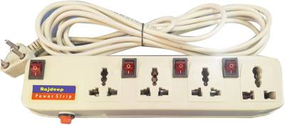 Rajdeep-415s-4-Way-4-Strip-Surge-Protector-(5-Mtr)