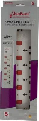 JohnBarrel-JSSB-165UU-(Dual-USB)-5-Strip-Spike-Surge-Protector-(3-Mtr)