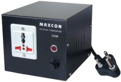 MX Professional Voltage Converter - 1000 Watts (220 - 110 V) 1 Socket Surge Protector(Black)