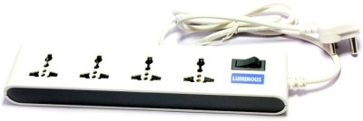 Luminous-4-Socket-Spike-Surge-Protector