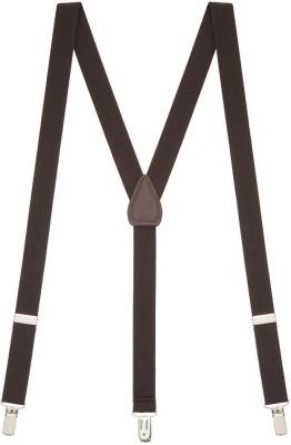 KYLON Y  Back Suspenders for Men, Women Brown