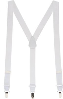 ZACHARIAS Y  Back Suspenders for Men, Boys White