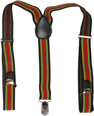 Civil Outfitters Y  Back Suspenders for Boys Multicolor