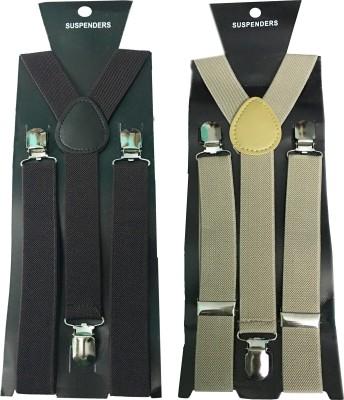 atyourdoor Y  Back Suspenders for Men Multicolor