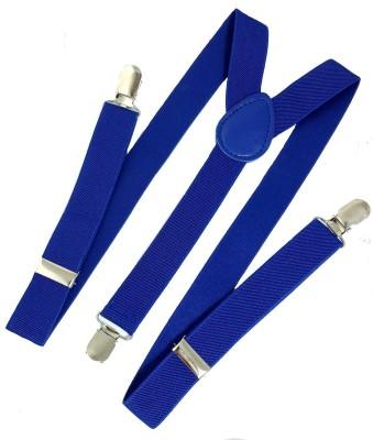Bsquare Y  Back Suspenders for Men, Women Blue