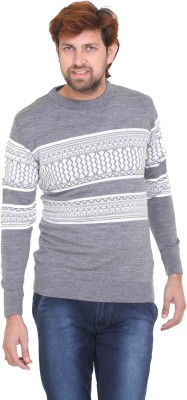 Ed Hardy Printed Round Neck Casual Men