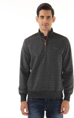 London Fog Full Sleeve Solid Men Sweatshirt at flipkart