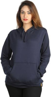 Campus Sutra Full Sleeve Solid Women Sweatshirt