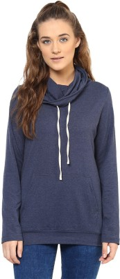 Purys Full Sleeve Solid Women Sweatshirt at flipkart