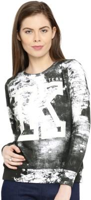 Kook N Keech Full Sleeve Printed Women Sweatshirt at flipkart