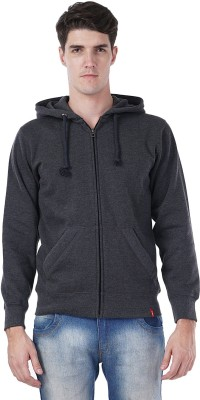 Wake Up Competition Full Sleeve Solid Men Sweatshirt at flipkart