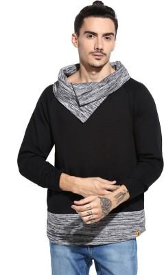 Campus Sutra Full Sleeve Solid Men Sweatshirt at flipkart
