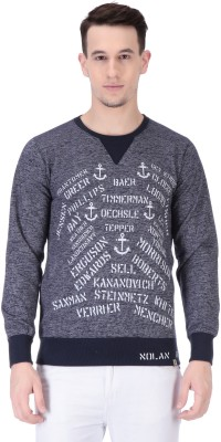 TAB91 Full Sleeve Printed Men Sweatshirt