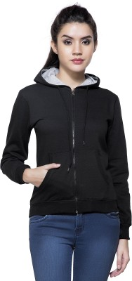 Wildcraft Full Sleeve Solid Women Sweatshirt