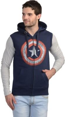 Captain America Sleeveless Printed Men's Sweatshirt