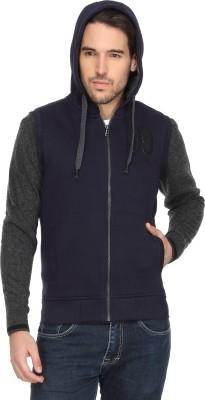T-Base Full Sleeve Applique Men's Sweatshirt