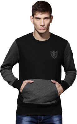Roadster Full Sleeve Solid Men Sweatshirt at flipkart