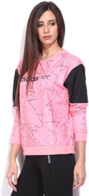 Adidas Full Sleeve Printed Women's Sweatshirt