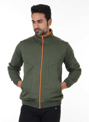 London Fog Full Sleeve Solid Men Sweatshirt at flipkart