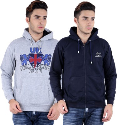 Sanvi Traders Full Sleeve Solid Men Sweatshirt at flipkart