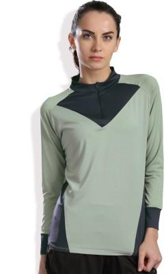 HRX by Hrithik Roshan Full Sleeve Solid Women Sweatshirt at flipkart
