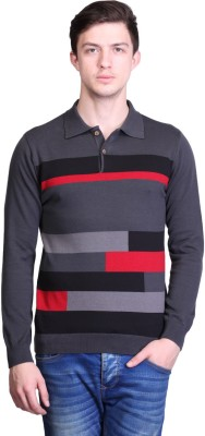 50% OFF on Kalt Self Design Men Polo Neck Multicolor T-Shirt on ... e4f5a589ee9c