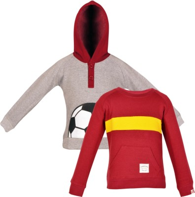 Gkidz Full Sleeve Printed Boys Sweatshirt at flipkart